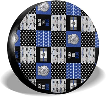 Motorhome Trailer SUV All agree Spare Tire Cover Patchwork Quilt Paisley Pattern Universal Car Rear Tire Covers RV Wheel Cover Tires Protectors for Camper Truck Boat Waterproof