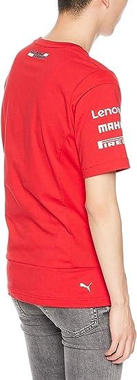 Scuderia Ferrari 2019 F1™ Sebastian Vettel Camiseta Hombre: Amazon ...