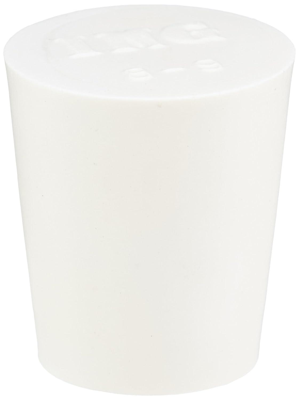 Neolab 2 4255 Obturateur en mousse silicone, 33 mm x 23 mm x 33 mm, blanc (lot de 5) 33mm x 23mm x 33mm 2-4255