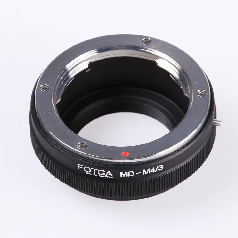 Adapter Ring Suitable for Minolta MD MC to for Canon EF Mount Cameras. V BESTLIFE MD-EOS Lens Adapter Ring Support A//M Mode