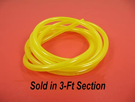 "Moose Fuel Line 5//16/"" ID 3 ft Yellow"