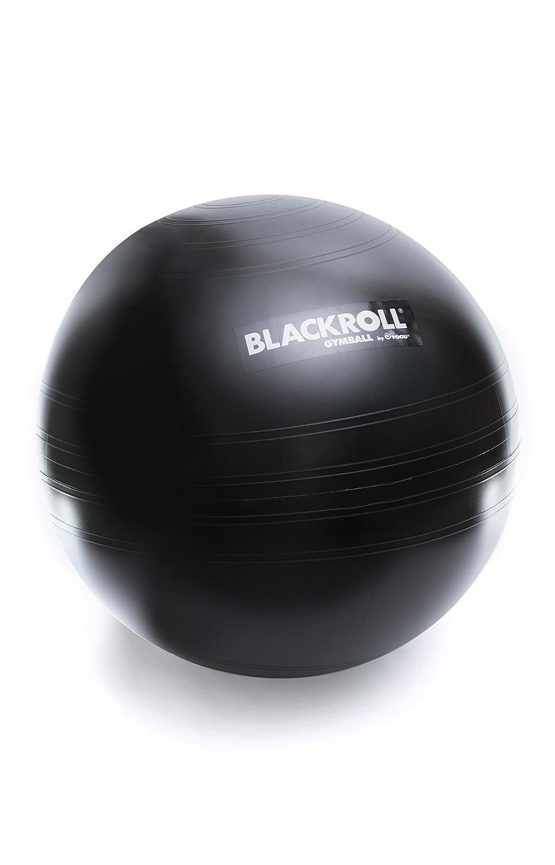 BLACKROLL GYMBALL - das Original. Trainigs- und Sitzgerät in Einem Gymnastikball/Sitzball in schwarz BLACKROLL AG AMGBBK