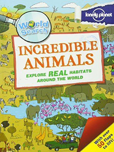 World Search - Incredible Animals (Lonely Planet Kids) ()