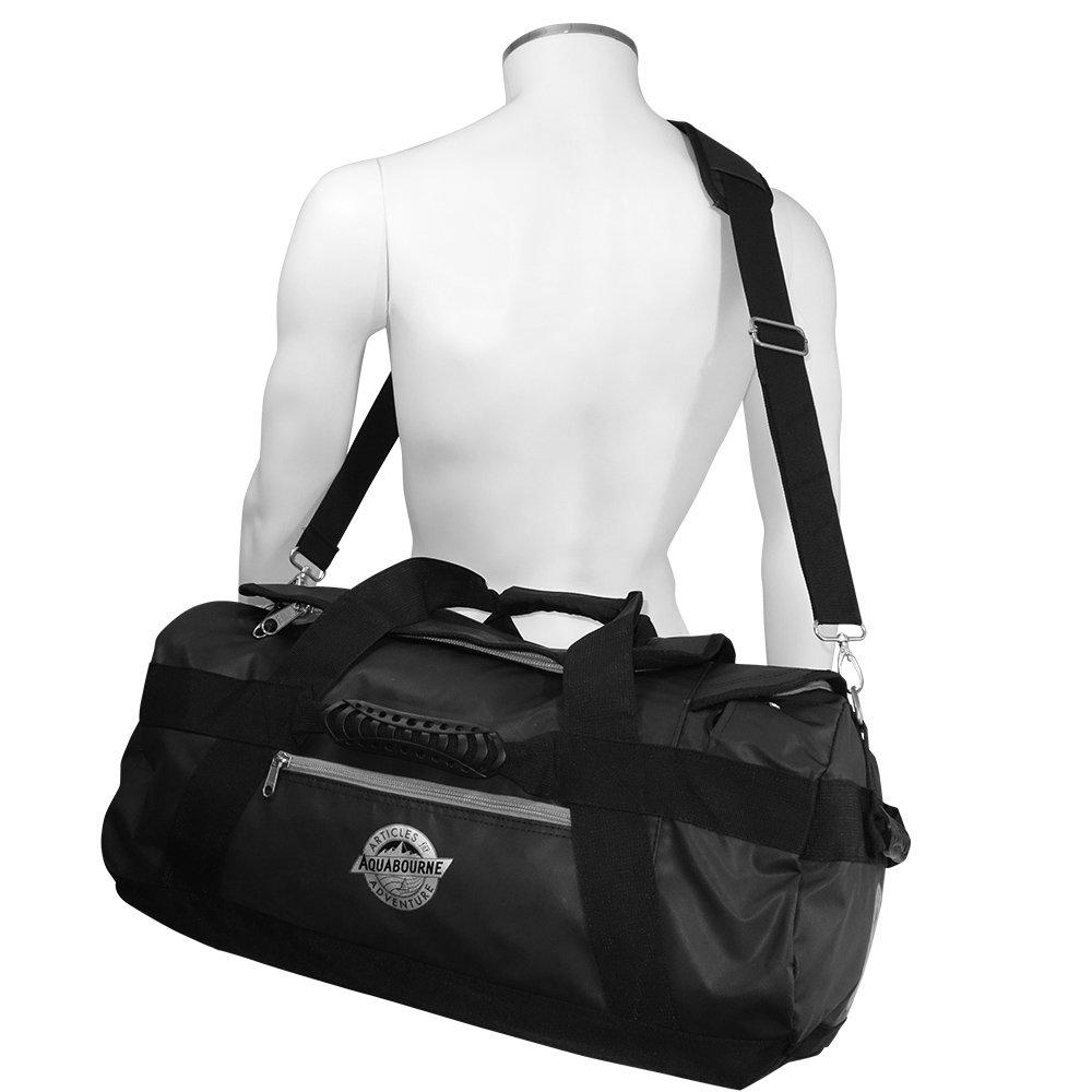 Aquabourne Tasman Waterproof Backpack Sports Duffel Holdall Gym and Travel  Bag 38 Litre 55x35x25  Amazon.co.uk  Luggage 3ca4761b550e5