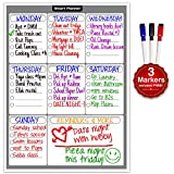 Kyпить Smart Planner Weekly Multi-Purpose Magnetic Refrigerator Dry Erase Board with 3 Magnetic Dry Erase Markers на Amazon.com
