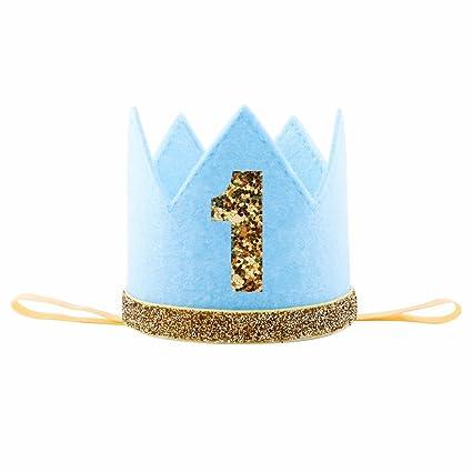 Amazon IMagitek Baby Boy First 1 Birthday Crown Hat Photo Prop