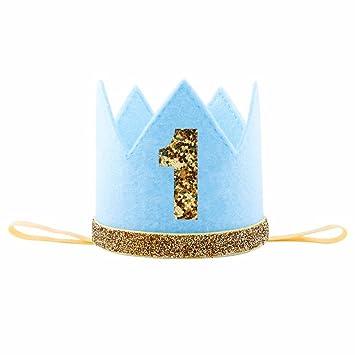 Amazon.com: iMagitek - Corona de cumpleaños para bebé: Toys ...