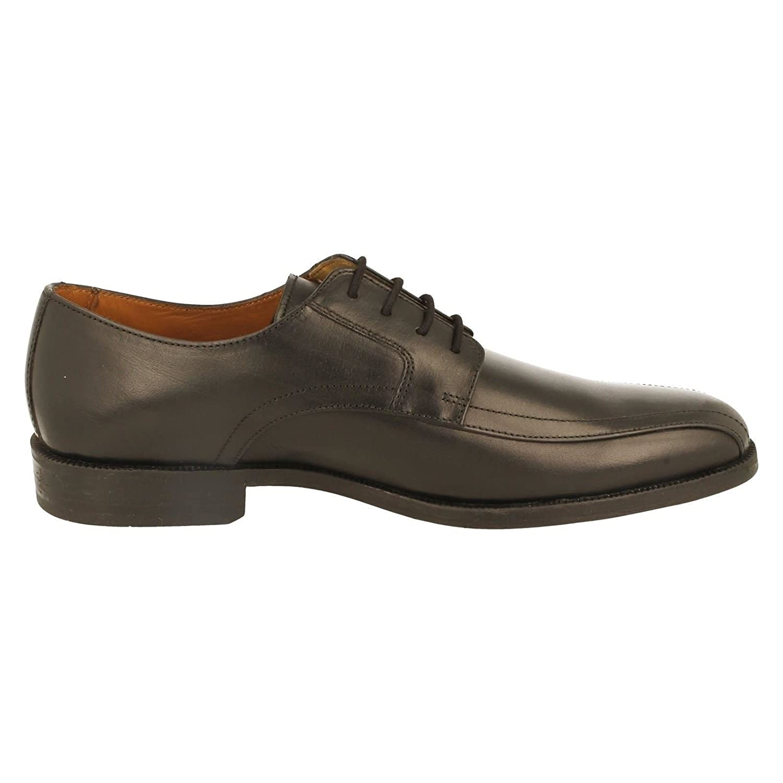Mens Clarks Bakra Sky Formal Lace Up Shoes, Black, 9.5 UK G: Amazon.co.uk:  Shoes & Bags