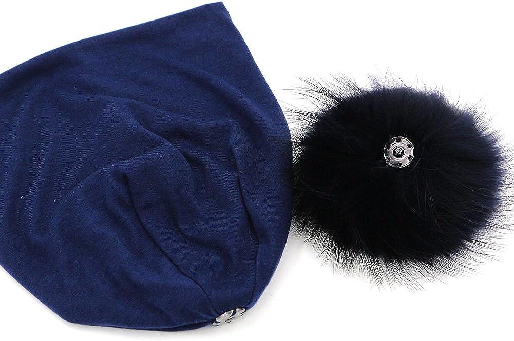 GZHILOVINGL Slouchy Womems Beanie with pom pom Hip Hop Spring Ski Hat Cap Solid
