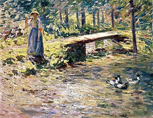 Theodore Robinson by The Brook 1891 Montclair Art Museum - Montclair, NJ 30