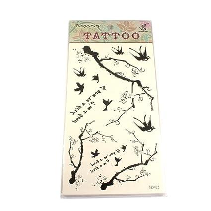 Tatuajes de pájaros y ramas IF YOU RE A Bird, I m a bird: Amazon ...
