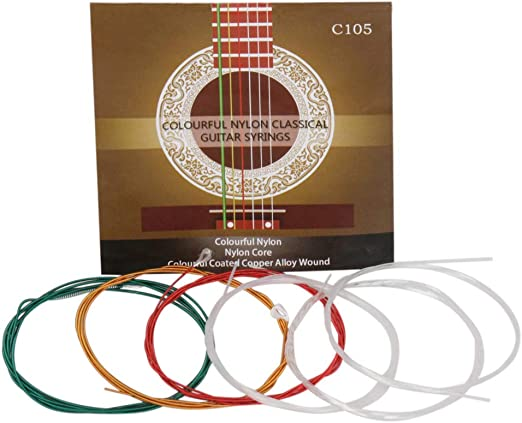 planuuik IRIN C105 Cuerdas de Guitarra clásica Núcleo de Nylon ...