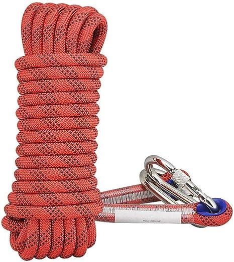 ND-Climbing rope Cuerda estática 30m, Cuerda de Escalada ...