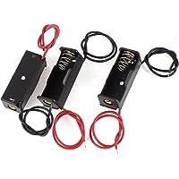 Ctzrzyt 3 x Dual Cable Plastic 1 x 23 A 12 V Batterij Houder Batterij Case