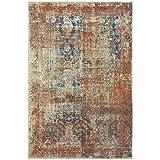 Oriental Weavers 521X Pasha Area Rug, 2'3″ x 7'6″, Beige/Multicolor