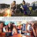 Portable Wireless Bluetooth Speakers, ELEGIANT 20W Loud Speakers with 5 Modes LED Lights Enhanced Bass/DSP Richer Stereo Sound with Mic IPX 5 Waterproof 12 Hours Play Time for Car Outdoor Party iPhone