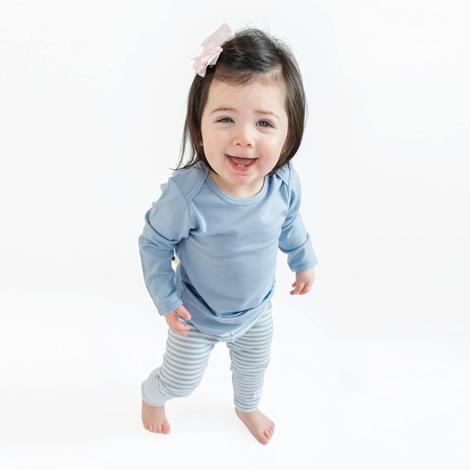 1-5 Years Merino Wool Woolino Long Sleeve Pajama Set