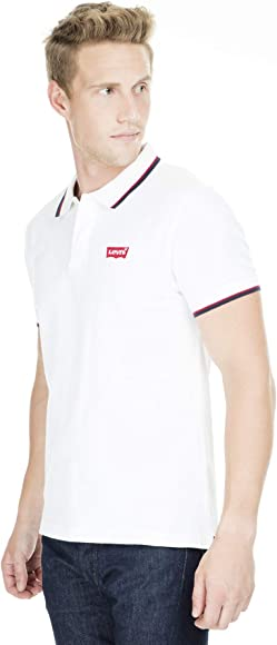 Levis ® SS Modern HM Polo Patch White: Amazon.es: Ropa y accesorios