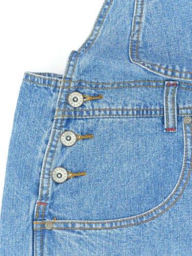 Revolt Women's Plus Size Denim Jean Blue Overalls Size 18