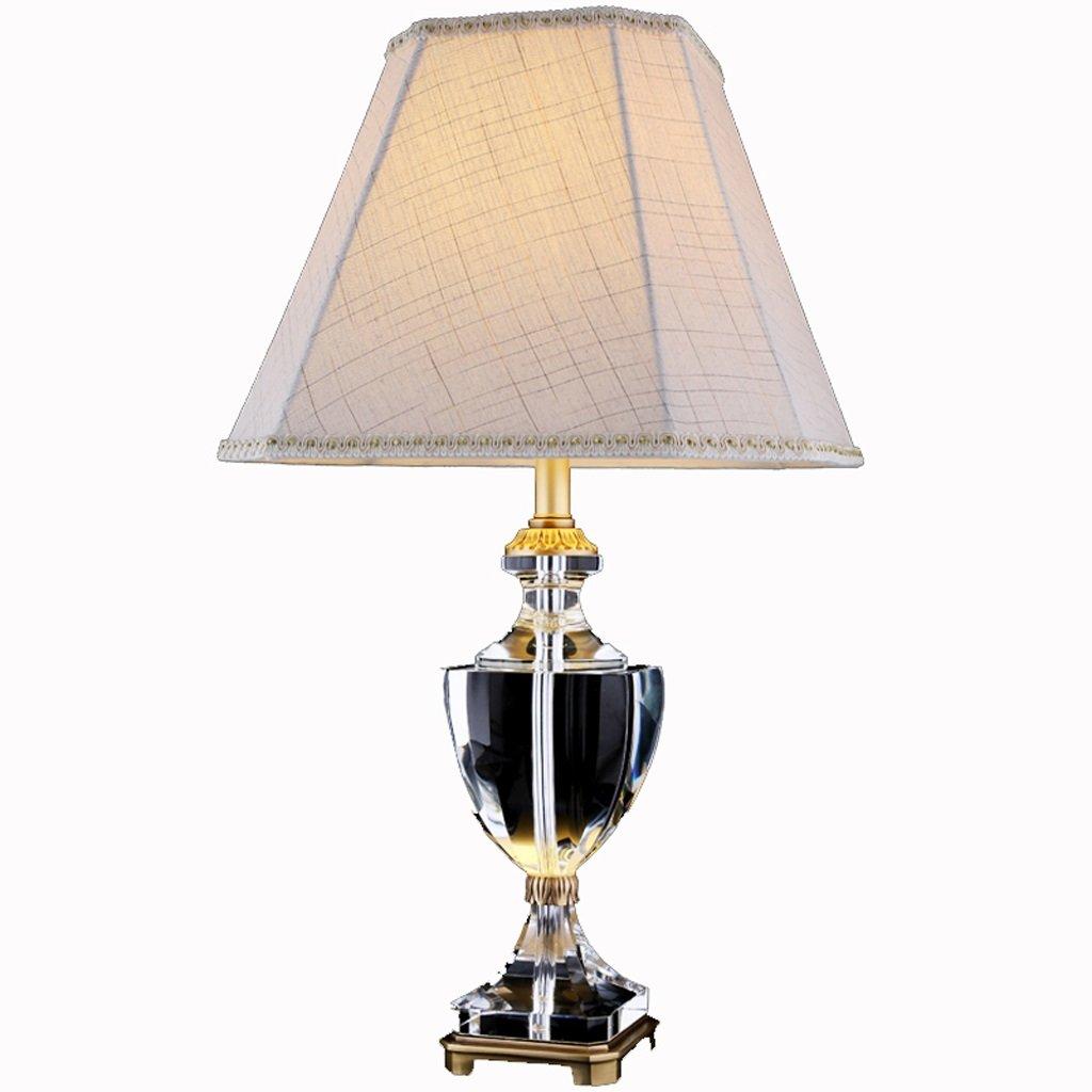 Hanlon E27-Schraubsockel, Tischlampe American Rural Kupferlampe Europäischen Wohnzimmer Alle Kupferlampe Kreative Retro Schlafzimmer Bedside Lampe