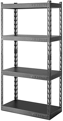 Gladiator GARC304RGG 30 Wide EZ Connect Rack with Four 15 Deep Shelves
