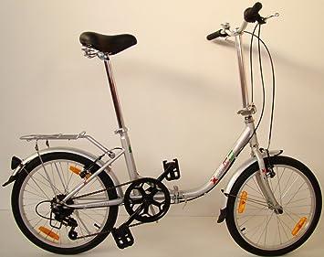 Germ anxia bicicleta plegable Comfort 20 6 g Shimano Incluye LED de iluminación y bolsa