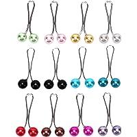 Hellery 12 Stks Vrouwen Broche Pins Crystal Hijab Sjaal Parel Veiligheidsspeld Trui - Multicolor