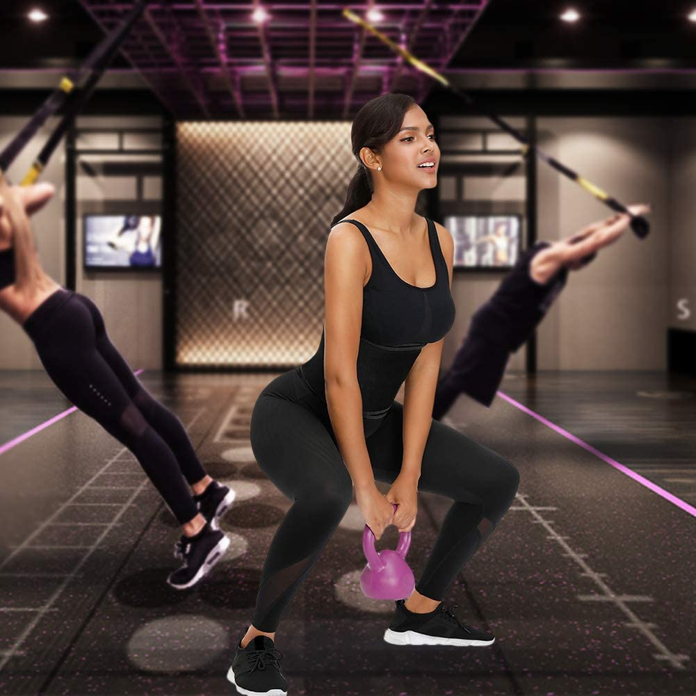 FEDNON Waist Trimmer Belt Trainer for Women Slim Body Sweat for Stomach Fat Burner Adjustable Belly Band Neoprene Wrap
