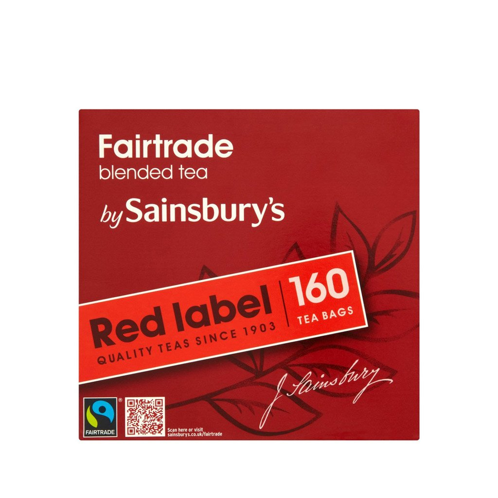 Amazon sainsburys red label back tea 160 teabags amazon sainsburys red label back tea 160 teabags fairtrade tea from england grocery gourmet food falaconquin