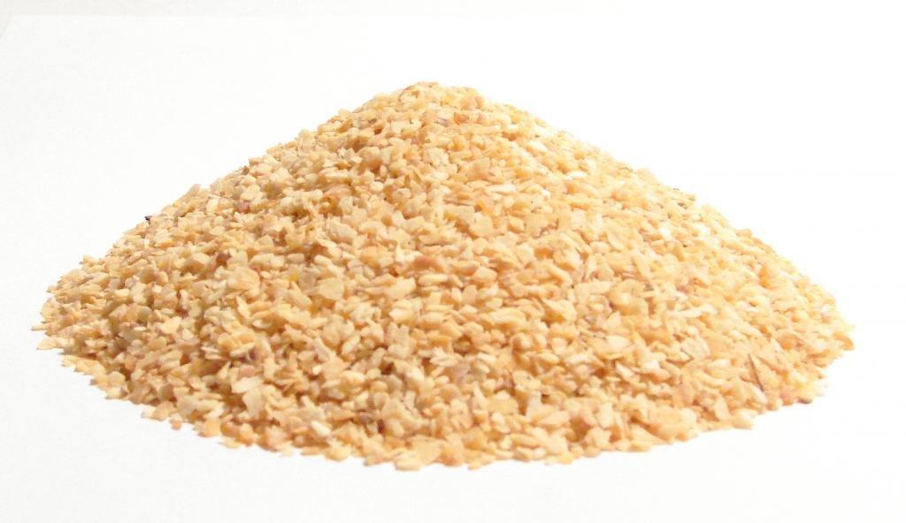 Garlic, Minced and Dried-4oz-Medium Sized Cut of Dried Garlic Spice