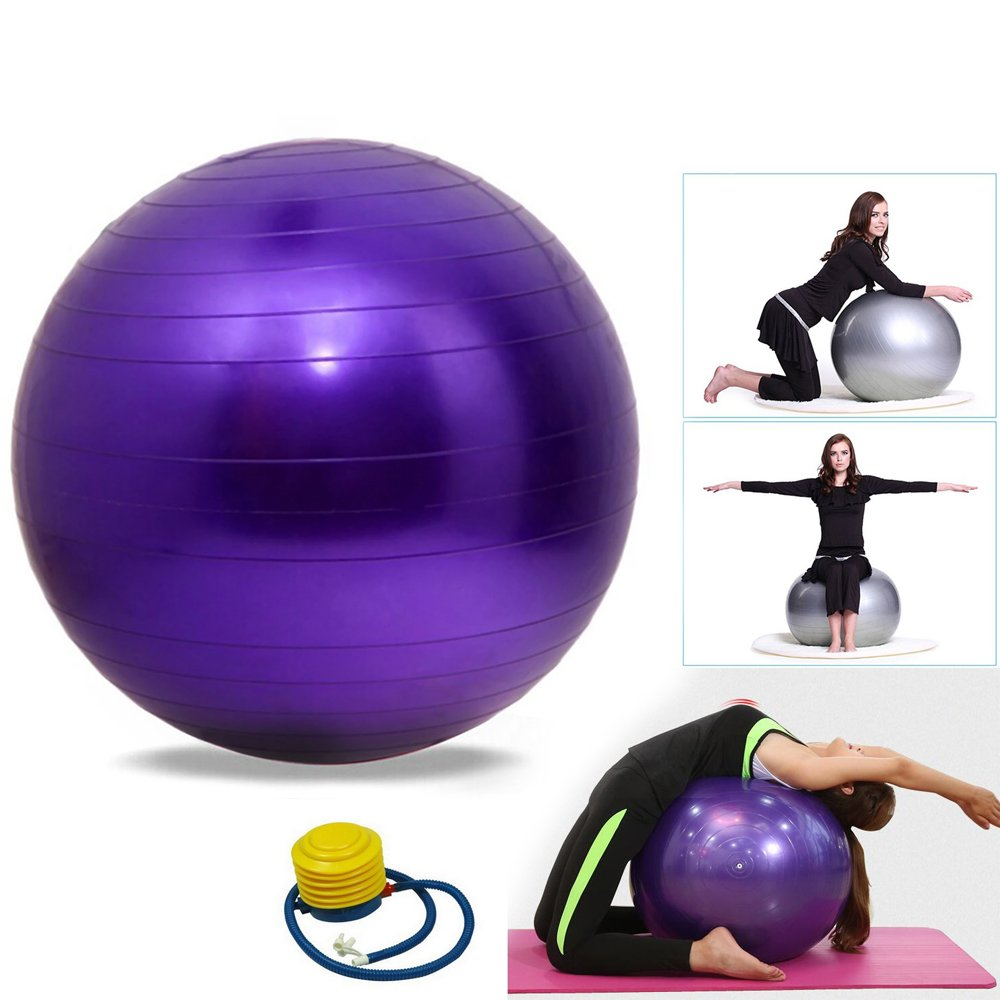 ChenFec - Balón de equilibrio para yoga, resistente ...