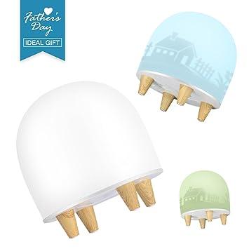 Elegant LED Nachtlicht Kinder, Multifun Nachtlicht Baby Mit 3 DIY Deko Folie,  Nachttischlampe Für Vatertag