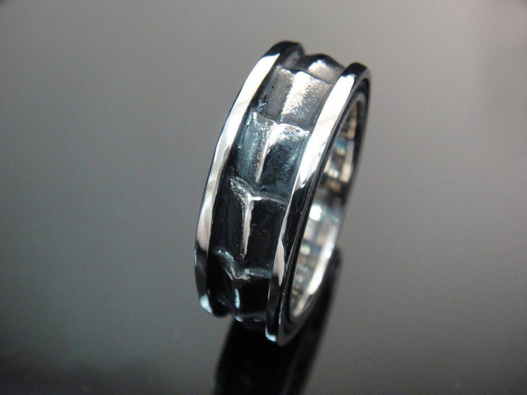 Men 316L Stainless Steel Men's Ring for Harley Rider Motor Biker Tr-107 (9)