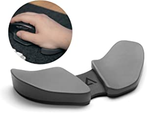 Reloot - DeltaHub Carpio: Ergonomic Gliding Wrist Rest, Sliding Wrist Pad That Moves with Your Mouse, Physician Designed for Carpal Tunnel Syndrome, Lightweight, for Office Computer Mac or PC