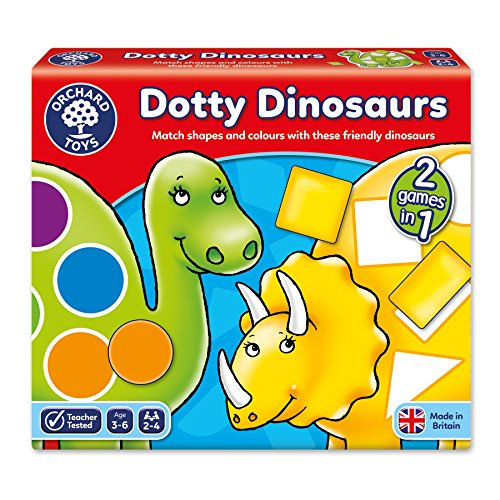 Orchard Toys Dotty Dinosaurs Children's Game, Multi, One Size ()