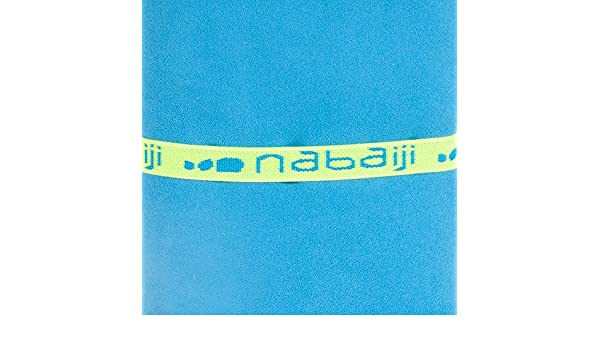 DECATHLON Nabaiji midcham azul toalla de baño 65 x 90 cm: Amazon.es: Deportes y aire libre