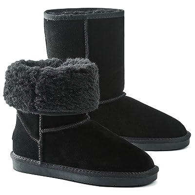 Women's Classic Snow Boots Fur Lined Ankle Bootie Warm Short Boots Winter Shoes   Shoes