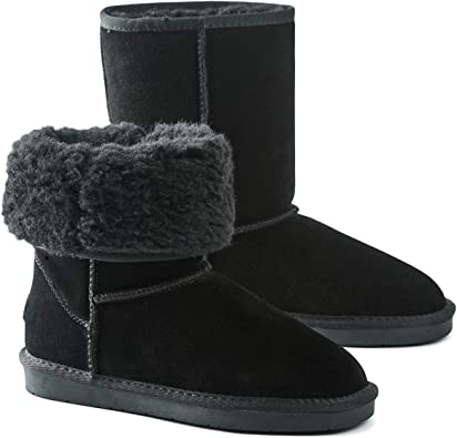 Women's Classic Snow Boots Fur Lined