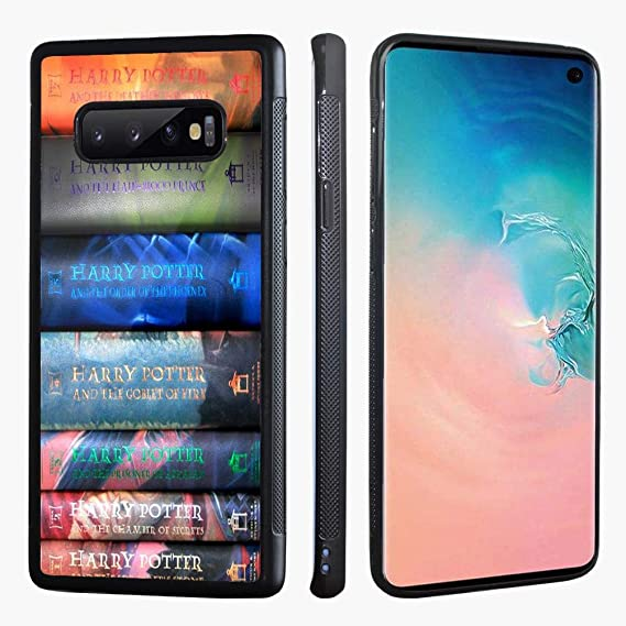 4e8245983bb Image Unavailable. Image not available for. Color: Samsung Galaxy S10 Case,  Harry Potter Books ...