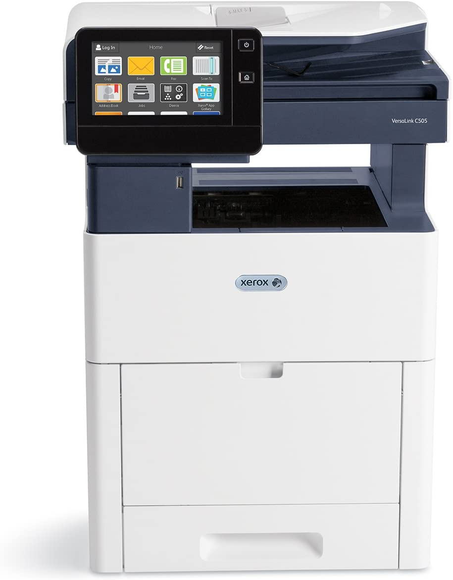 Amazon Com Xerox Versalink C505 X Color Multifunction Printer Amazon Dash Replenishment Ready White Office Products