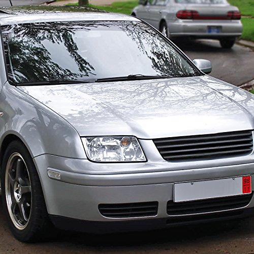 Spec D Tuning LH JET99 RS Fit VW Jetta MK4 Euro Crystal Chrome