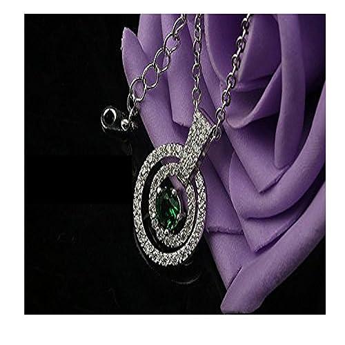 0904fef61d1a loway collar de moda para las mujeres 2015 pequeño Dangled círculos   Amazon.es  Joyería