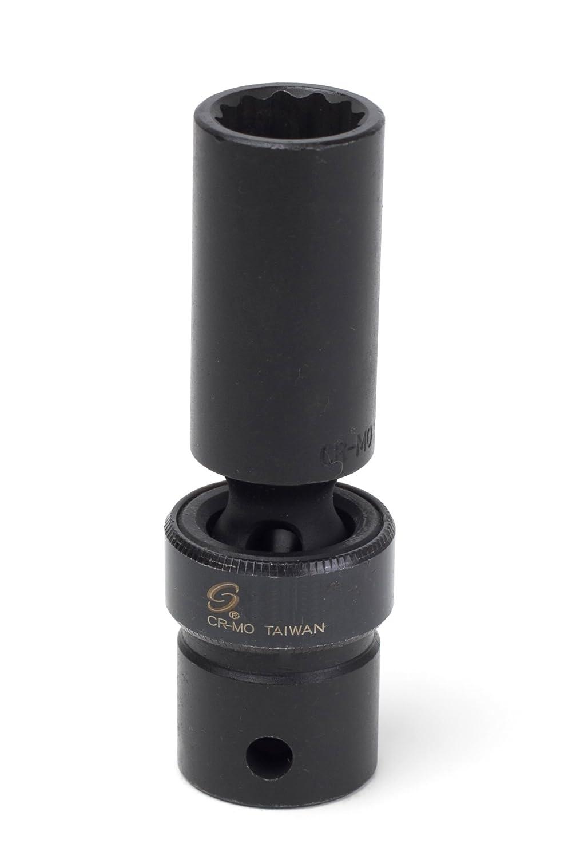 Sunex 213mzud 1//2-Inch Drive 13-mm 12-Point Deep Universal Impact Socket