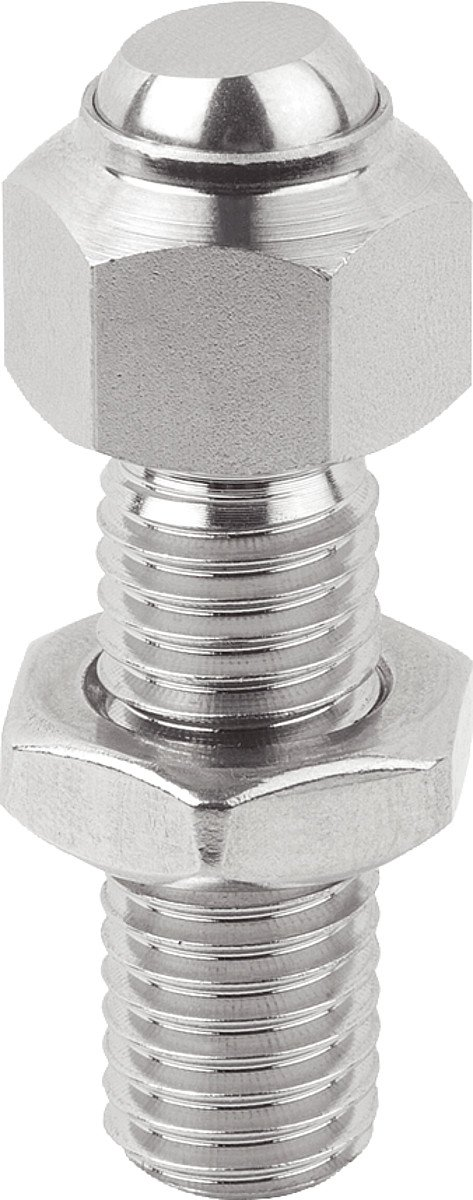 Adjustable Tilt M10 Form C Stainless Steel Pendant Pads – Small – Length = 30: Stainless Steel, 1 Pack, k0287.1101