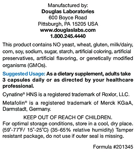 Douglas Laboratories - Ultra HNS (Hair, Nails, Skin) - Keratin, Biotin and Nutrients to Support Hair, Nail, and Skin Health* - 90 Capsules by Douglas Laboratories (Image #2)