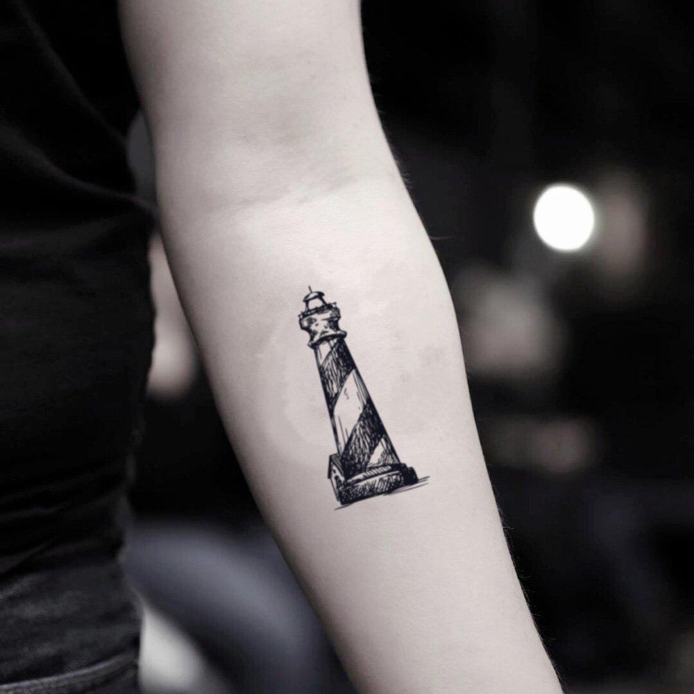 Tatuaje Temporal de Faro (2 Piezas) - www.ohmytat.com: Amazon.es ...