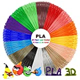PLA 3D Pen Filament Refills - Dikale 3D Printing Pen Filament 1.75mm Including 16 Different Colors, 20 Feet Per Color, 320 Feet in Total for Scribbler, Soyan, Manve, MYNT3D, Dikale, TIPEYE 3D Pen