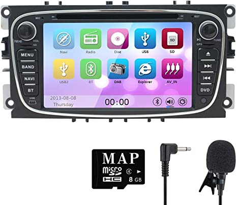 Amazon.com: NVGOTEV - Navegador GPS estéreo para coche para ...