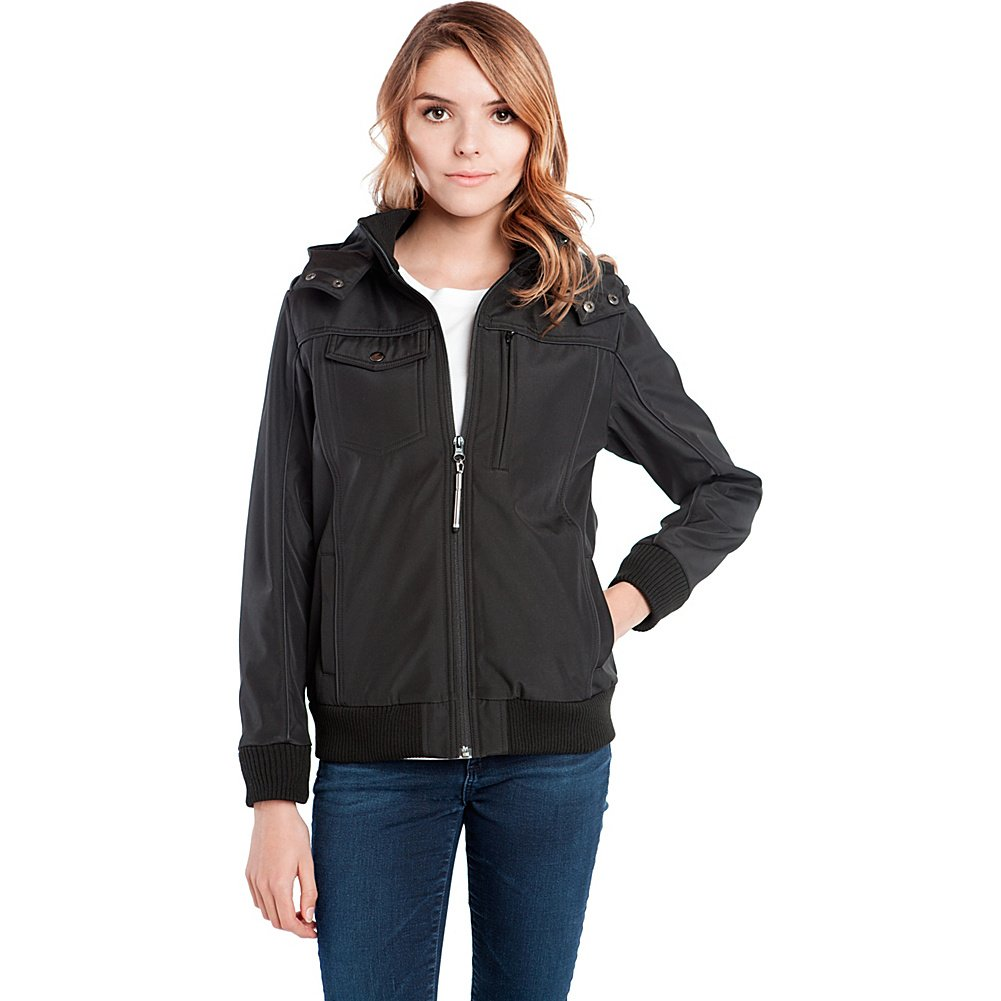 Baubax Travel Jacket - Bomber - Female - Black - XL