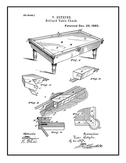 Table Around Pool Table Diagram
